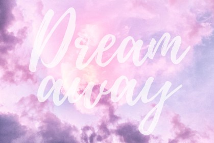 pastel iphone wallpapers quotes cloudy pink daydreamers gold backgrounds dream rose clouds super adorable header preppy