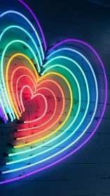 neon iphone aesthetic xr wallpapers colorful anesthetic hd background backgrounds cute heart fanpop rainbow preppy screen bright crush read