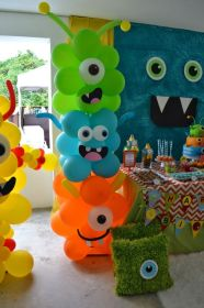 party birthday boys themes decoration parties themed cool decorations monster racer