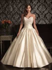 allure bridals gown ball gowns bridal gold dresses champagne bridesmaid beaded ivory natural elegant