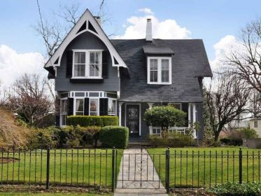 architecture cool black victorian house design old