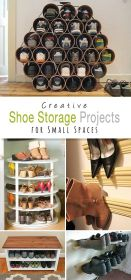 shoe storage spaces rack diy projects shoes racks clever space closet organizer outdoor ikea shelves explore creative bedroom idea awesome