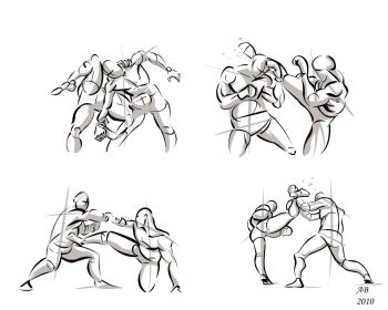 fighting poses drawing alexbaxthedarkside deviantart character pose reference references sketches action draw animation drawings sketch fencing movement manga cartoon posing