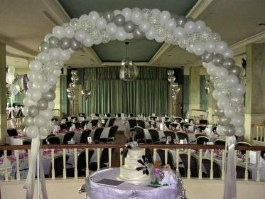 para globos bodas balloon con decoration wedding boda decoracion devon balloons arch arreglos utiles muy tips cool local services