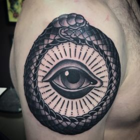 tattoo ouroboros wanderlust traditional browse