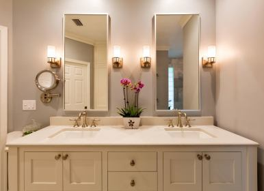 bathroom lighting mirror bathrooms placement mirrors master spa mistakes yourself vila length bob solved almost everyone common makes bathtub colors