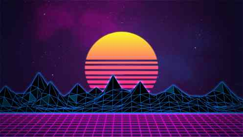 80s aesthetic neon synthwave retro pink background retrowave outrun gaming everywhere being commonly given common names