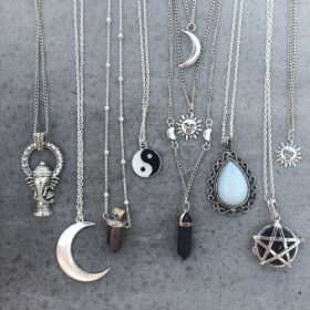 aesthetic necklace grunge favim soft indie cute devil