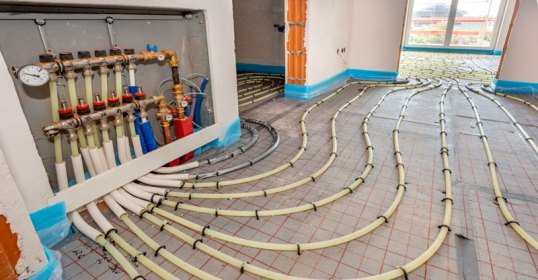 radiant heating floor hydronic cost systems installing running forced than types installation does much adding experience different