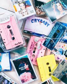 aesthetic 90s grunge music wallpapers backgrounds wallpaperaccess cassette tech ready go