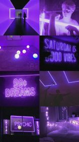 aesthetic purple wallpapers light collage backgrounds wallpaperaccess pastel