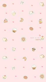 kawaii iphone wallpapers aesthetic backgrounds pink girly anime background patterns hd ipod wallpaperaccess travel whatsapp quote