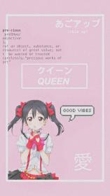aesthetic anime pink wallpapers kawaii nico backgrounds wallpaperaccess collage vibes japanese cave hd zoey simpson posted sign