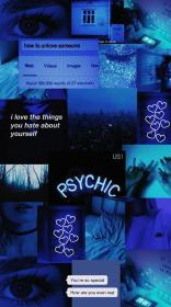 aesthetic dark wallpapers backgrounds desktop iphone laptop anime collage android aesthetics 1080p edgy parede papel cool 4k neon dunkelblau cjf