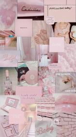 aesthetic collage wallpapers pastel lockscreen
