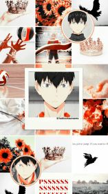 haikyuu aesthetic kageyama anime wallpapers bt karasuno kuroo volleyball colors