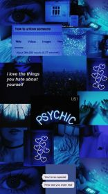 aesthetic wallpapers dark iphone backgrounds azul collage fondos hd phone neon desktop aesthetics navy pantalla cool anime quotes cjf blues