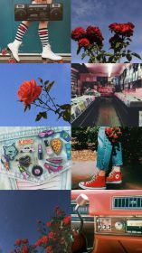 aesthetic retro wallpapers backgrounds desktop cartoon cave roses aesthetics asked 80s google requested android bedroom pastel rose bts teahub io