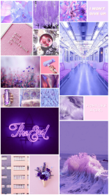 aesthetic purple wallpapers collage background backgrounds aesthetics pastel gamer pink collages lilac laptop desktop bts iphone picturesque computer wallpaperaccess cool