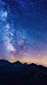 Download Starry Night Iphone Wallpaper Gallery