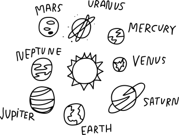 Clipart star planet, Clipart star planet Transparent FREE
