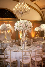 reception wedding elegant gold tablescapes weddings table centerpieces decor decorations tables decoration party centerpiece pieces arrangements event center simple tablescape