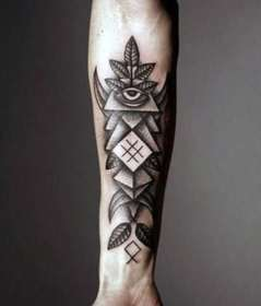 forearm tattoos tattoo inner cool mens meaning designs cross awesome nextluxury sleeve tribal abstract guys tree types face unique looks