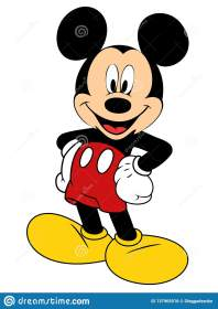 mickey mouse vector illustration eps preview