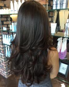 layered long hair haircuts haircut thick hairstyles cut length beneficial most any layer therighthairstyles styles short capas cabello largas hairstyle