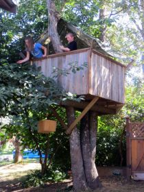 treehouse build tree kits plans diy yourself fort children dream kid steps easy treehouses fresh roof childhood photograph natural lifetime
