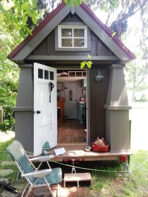 tiny cottage wheels cottages houses inside swoon homes plans ft sq cabin cabins interior trailer sweet tinyhouseswoon exterior building mini