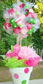 shower centerpieces bouquet ribbon unknown tulamama them away credit