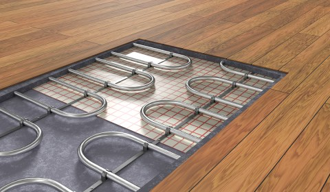 heating system radiant floor construction hydronic