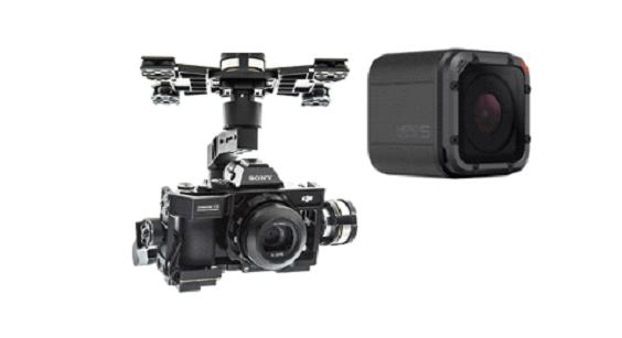 gimbal para drones