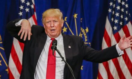 Vídeo: rede de TV sugere que Trump quer muro para barrar seleção argentina