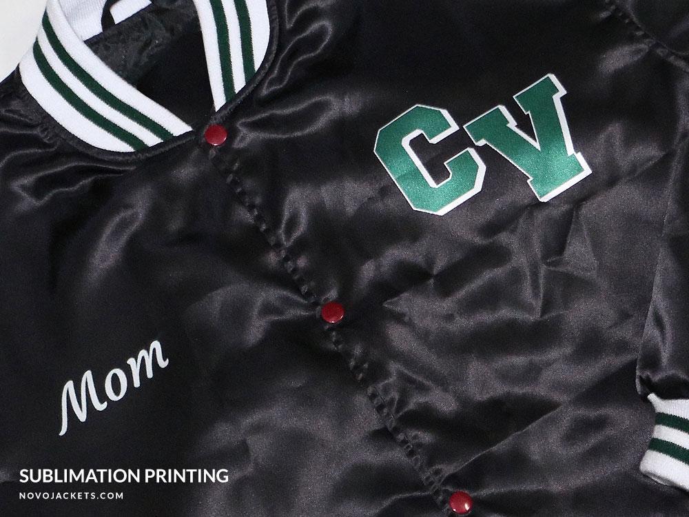 Women Letterman Jackets Custom Logo Design Printing