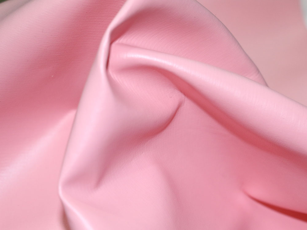 Baby Pink Faux Leather