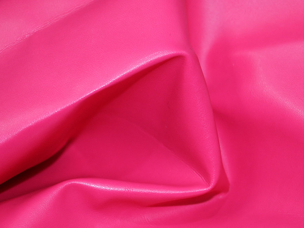 Pink Faux Leather