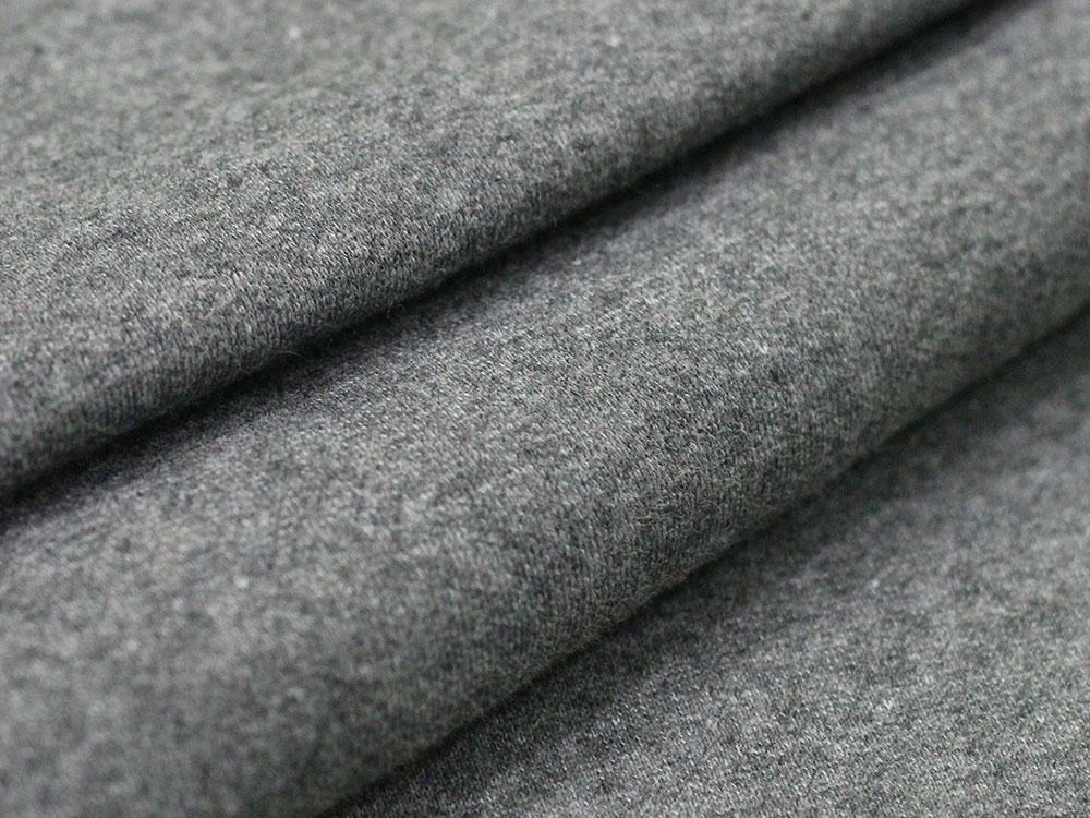 Gray Cotton Fleece