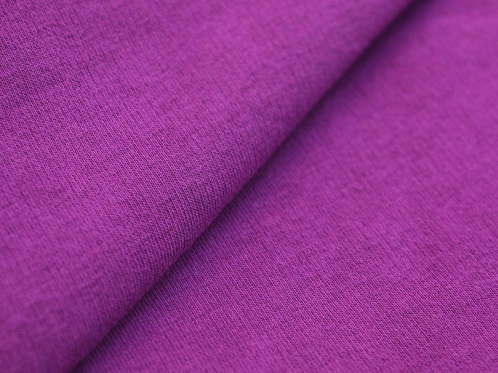 Purple Cotton Fleece