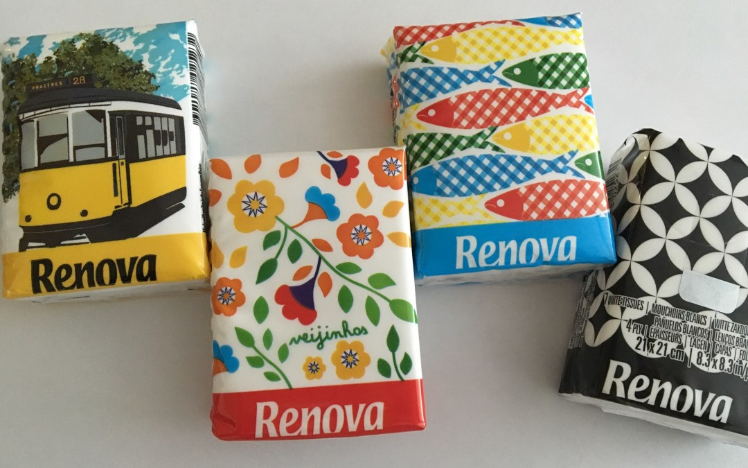 Saudades of Portugal: Renova Tissues