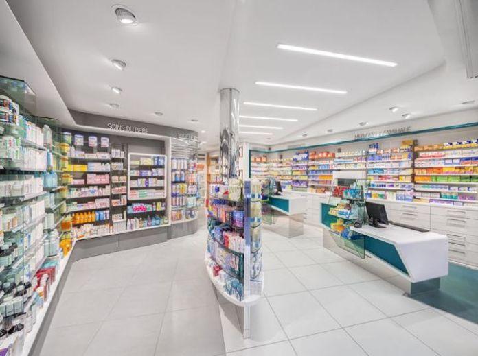 Layout de farmácia