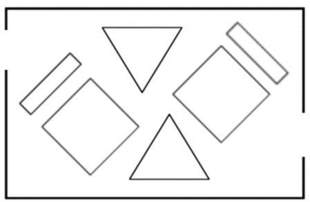 layout-loja-planta-geometrica
