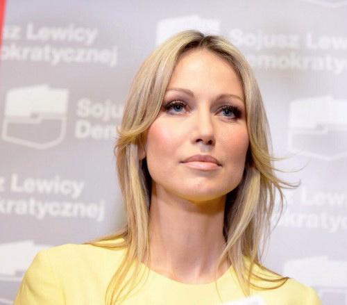 Магдалена Огорек - кандидат в президенты Польши от Союза левых демократических сил.