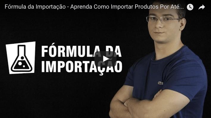 curso fórmula da importação