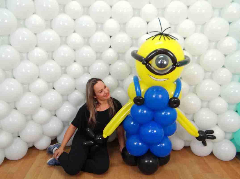 Curso Cris Balões Curso online de decoração com balões com certificado