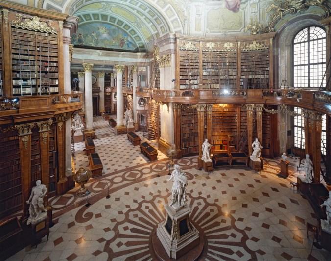 Prunksaal Nationalbibliothek Österreich