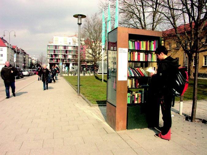 Öffentlicher Bücherschrank München