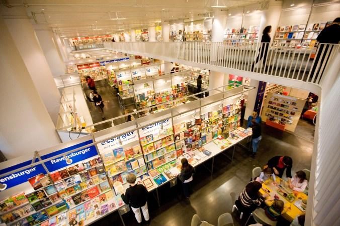 Bücher, so weit das Auge reicht – das sind die Stuttgarter Buchwochen.