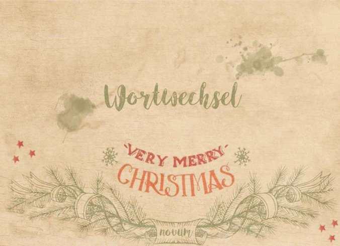 Christmas wortwechsel